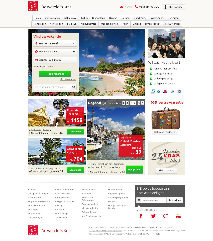Homepage Kras