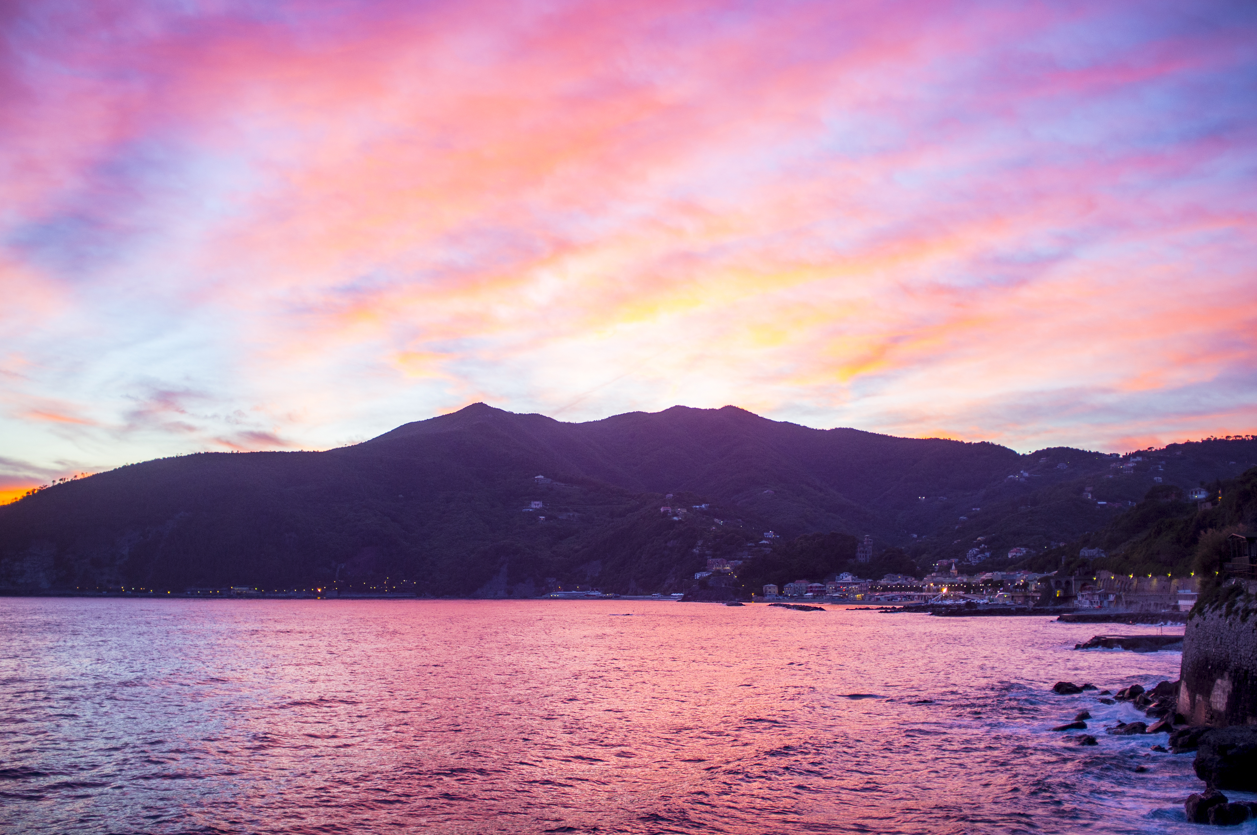 kust foto Italië
