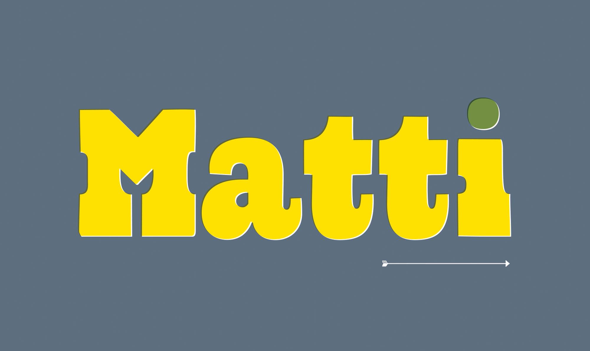 geboortekaart Matti