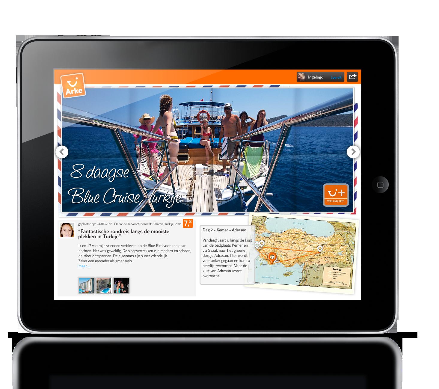 iPad Flipboard concept
