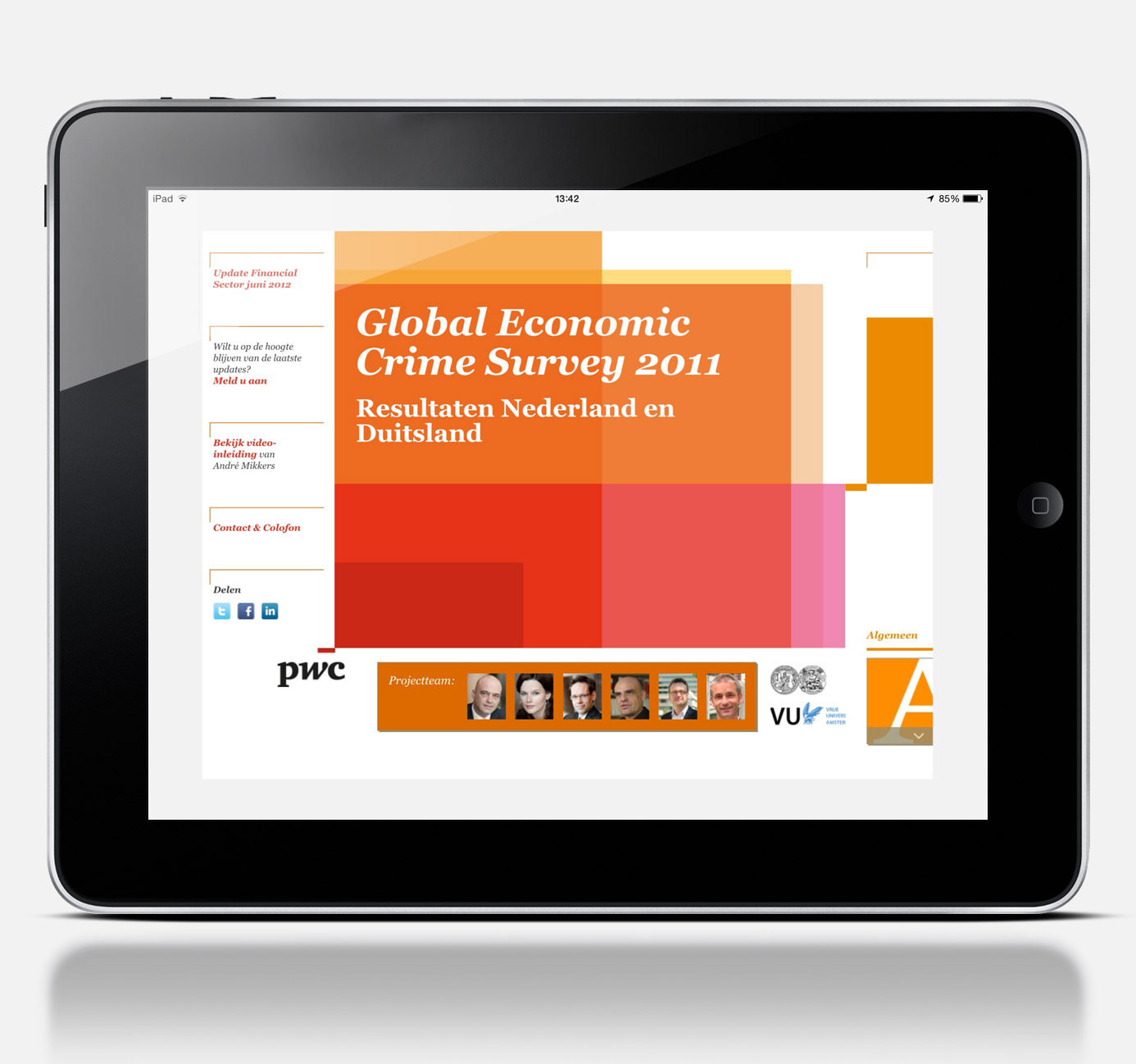 PWC Crime survey home